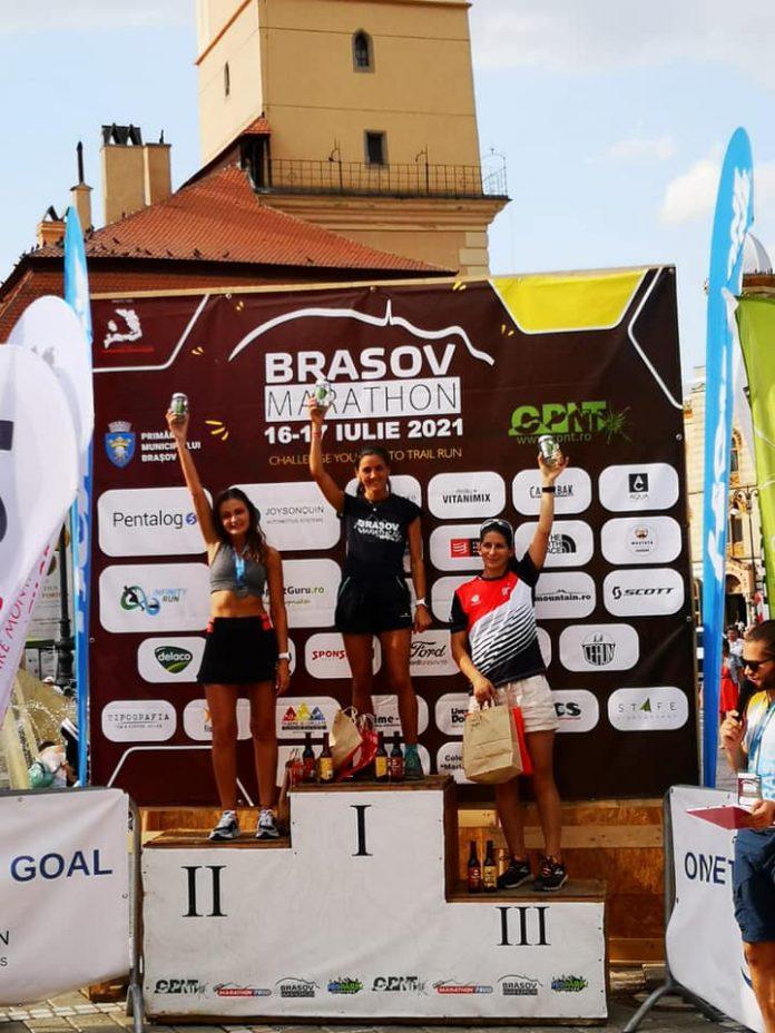 Mihaela Nunu câștigă Semimaratonul de la Brașov la categoria 30-39 de ani
