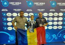 Alexandra Voiculescu e vicecampioană la Mondialele de lupte pentru cadeţi