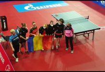 România are campioane europene la tenis de masă în concursul junioarelor din Croația