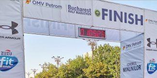 Nicolae Soare şi Ancuţa Bobocel au câştigat Semimaratonul Bucureşti.