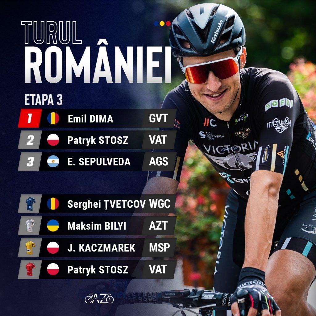 Emil Dima a câștigat la Poiana Brașov în etapa a 3-a din Turul României!