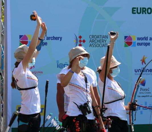 România a cucerit patru medalii la Campionatele Europene de tir cu arcul