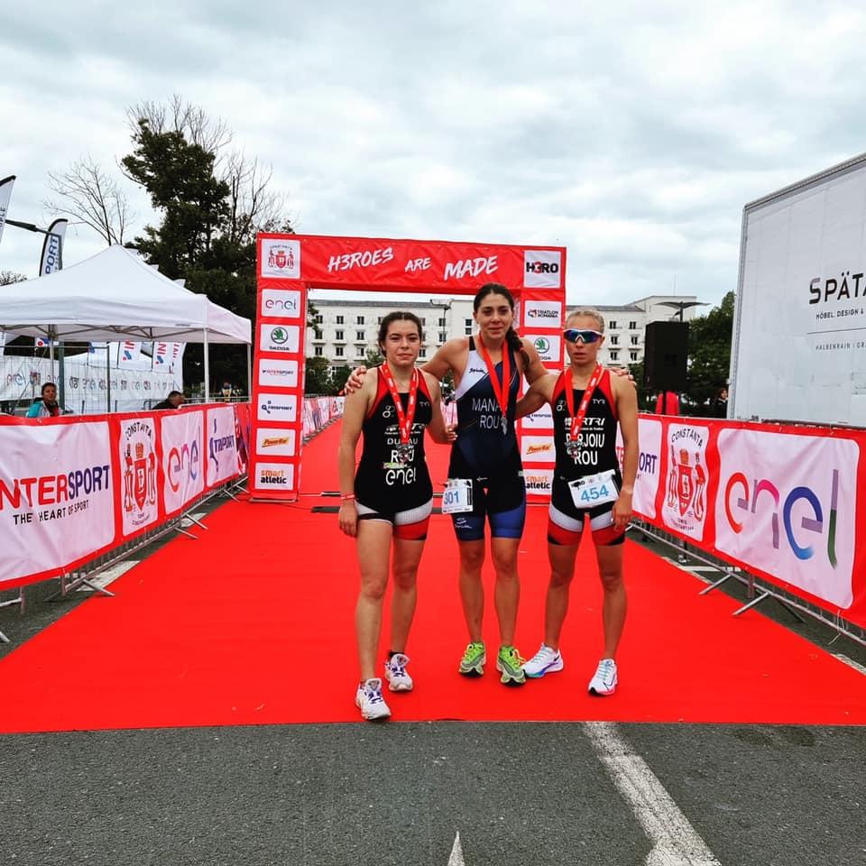 Antoanela și Felix sunt cei mai buni! Erick Rogoz Lorincz e campion la Triatlon U23