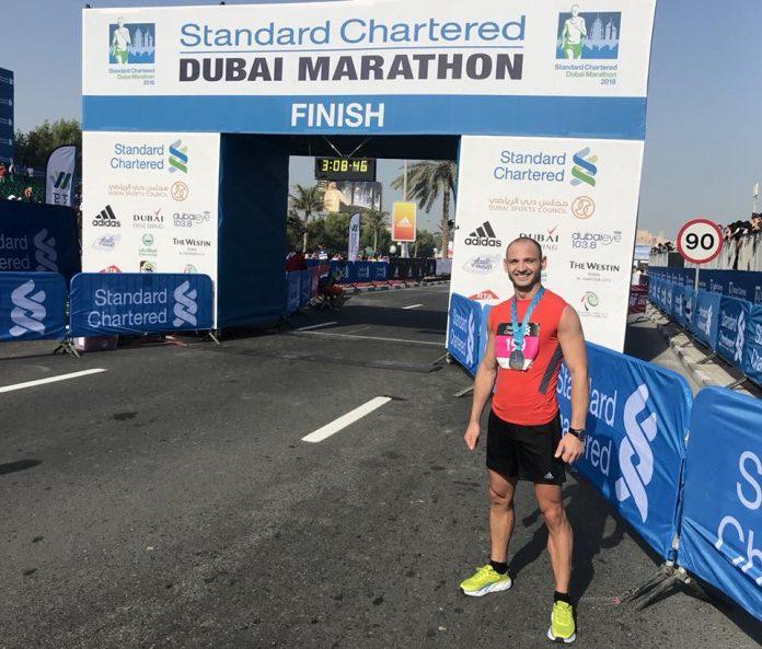 Roman a terminat Maratonul din Dubai cu