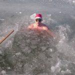 Inot in conditii extreme! E ziua cea mare! Primul roman inoata la Winter World Swimming
