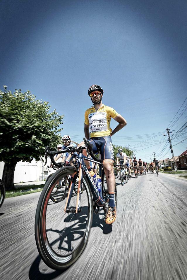 Eduard Grosu e liderul echipei italiene de ciclism Nippo!