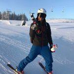 Mihnea Olteanu a castigat titlul national in schi alpin la slalom urias!Reactii.