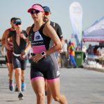 Maria Gerda Dumitru ataca in forta. Triatlonista e din nou pe podium