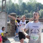 Mihai Sirbu alearga pentru Romania la semimaratonul de la Madrid.