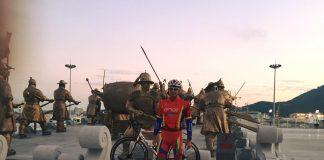 Alexandru Ion ataca intrecerea din Coreea de Sud la triatlon