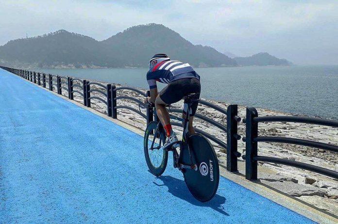 Alex Diaconu a fost la doar 20 de secunde de medalie la triatlonul asiatic