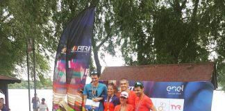 Andreea Balan e campioana nationala. Triatlonista a castigat la stafeta