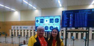 Daria Haristiade tinteste un record in Argentina la Tir, la Jocurile Olimpice
