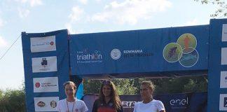 Andreea Teodora Balan castiga la Delta Triathlon, distanta sprint.