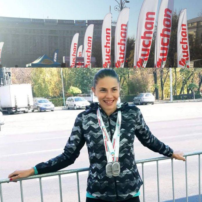Claudia Bobocea a castigat trei probe la Bucharest Urban Athletics Auchan