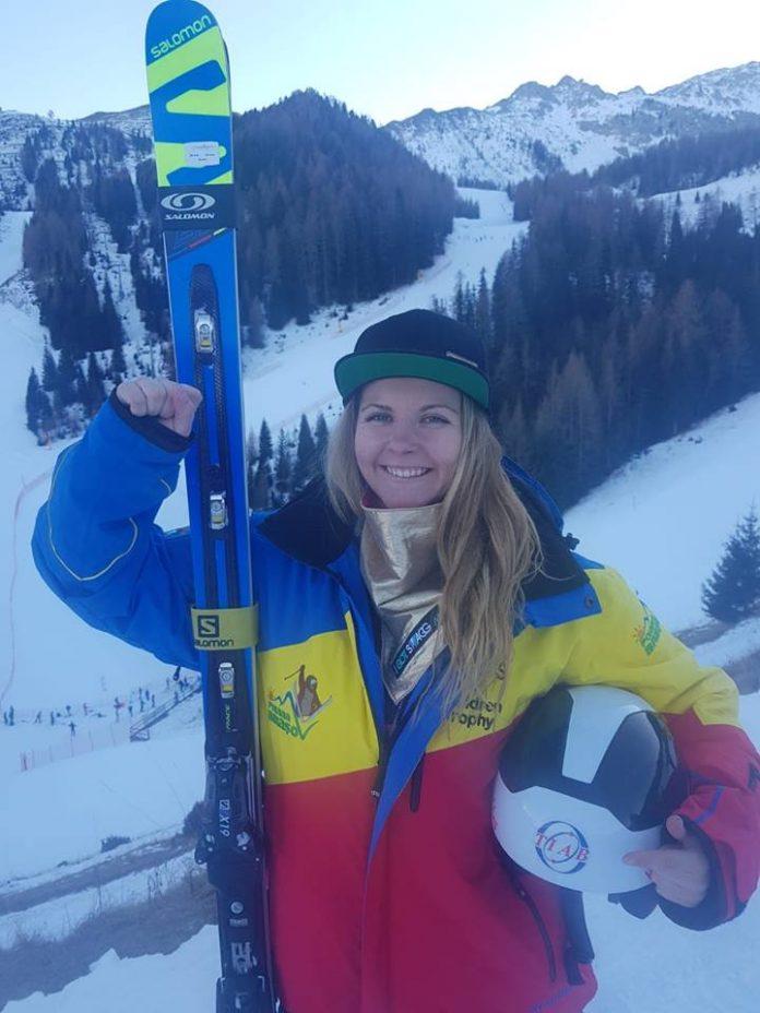 Ania Caill a inceput in forta anul in schi. Castiga curse pentru Romania! Declaratii