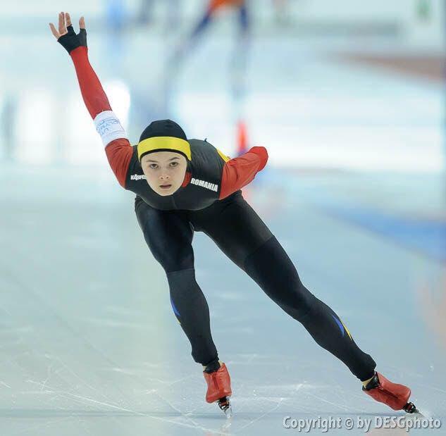 Mihaela Hogas e la Finala Cupei Mondiale de patinaj viteza!