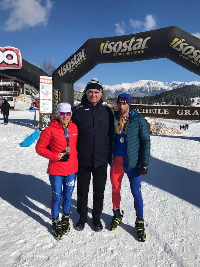 Medalie de Argint pentru Romania la Campionatul European de Winter Triatlon!