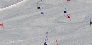 Claudiu Tudoran castiga la Nationalele de Schi Alpin! Accident la Feminin, la Azuga!