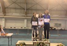 Rezultate la atletism ! Campioni la Nationalele de sala de Juniori 3 din Bacau!