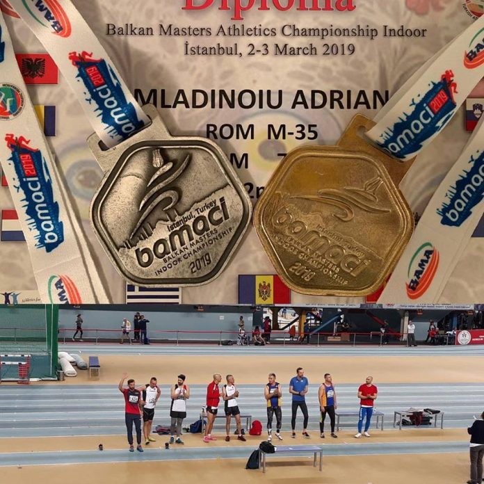 Medalii pentru Romania la Campionatul Balcanic Masters in Sala din Turcia