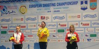 Laura Coman anunta urmatorul obiectiv dupa titlul european cucerit la pusca 10m.