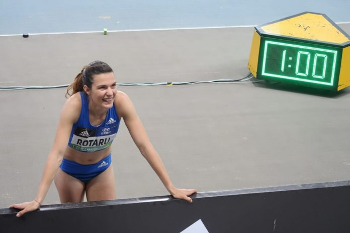 Alina Rotaru sare la Dessau! Atleta vorbeste despre sezonul in aer liber.