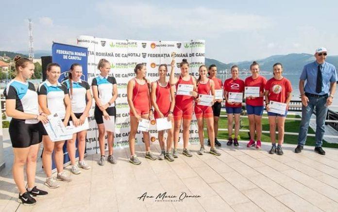 Canotaj la Orsova. Finalul intrecerilor la Cupa Romaniei 2019 pentru juniori