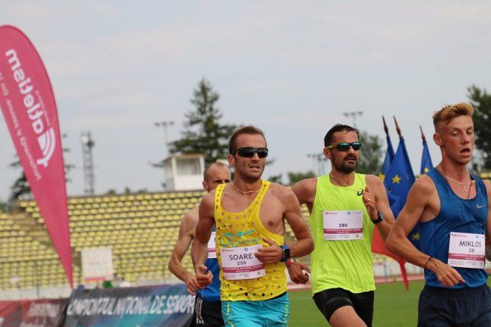 Medaliati la cursa de 10000 de metri la Nationalele de Atletism de la Pitesti!
