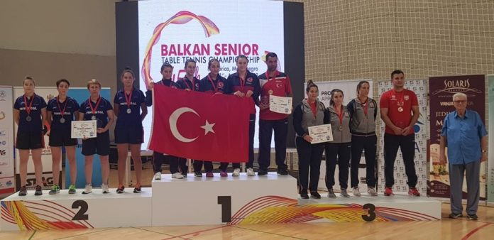 Sase reprezentanti ai Romaniei joaca la Campionatele Balcanice de tenis de masa