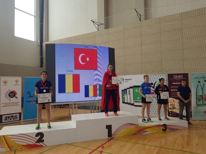 Final cu medalii pentru Romania la Campionatul Balcanic de tenis de masa