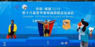 Florin Asmarandei incheie sezonul la ciocan cu titlul mondial in China