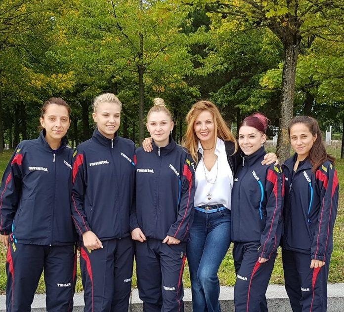 Romania si Portugalia joaca pentru aur la Europenele de tenis de masa pe echipe