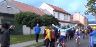 Eduard Grosu este printre cei mai buni sprinteri in Turul Slovaciei