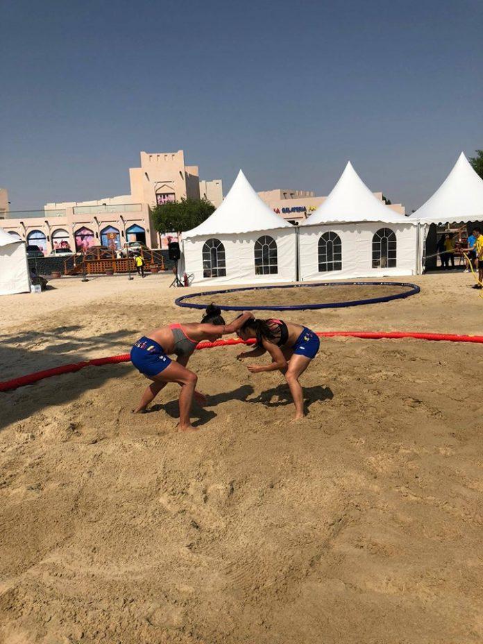Adina Elena Popescu castiga medalia de bronz la ANOC World Beach Games