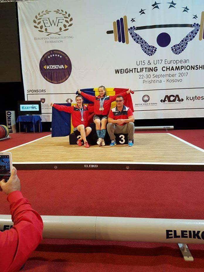 Raluca Olaru a ajuns la haltere si vrea sa transforme visul olimpic in realitate