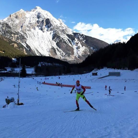Paul Pepene schiaza din prima zi din 2020. Rezultate in Turul de Schi