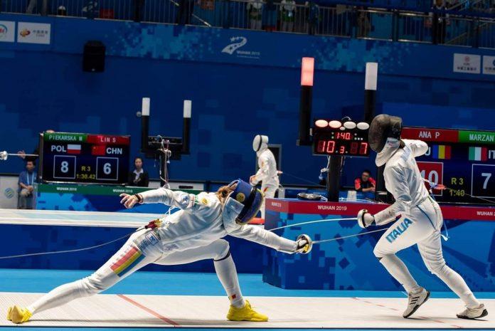 Ana e cea mai buna la spada in Qatar! Victorie in Grand Prix!