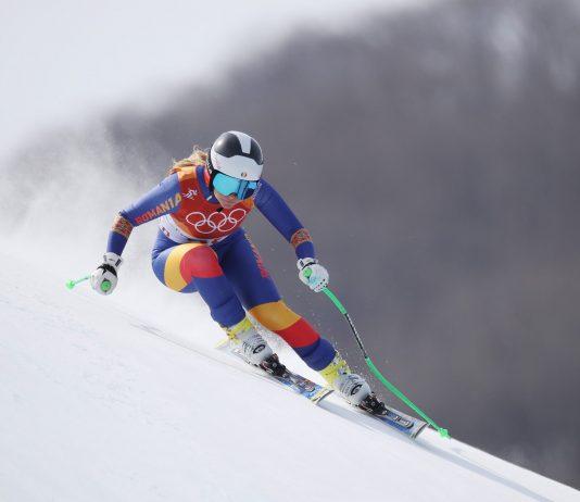 Podium pentru Ania Caill la Super G in Italia! Schi alpin la Pila