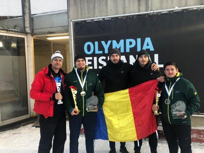 Romania are cea mai buna echipa la bob in Cupa Europei! Tentea este campion