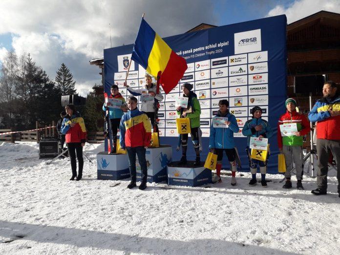 Jennifer si Matei castiga întrecerile de la FIS Children Trophy in Poiana Brasov