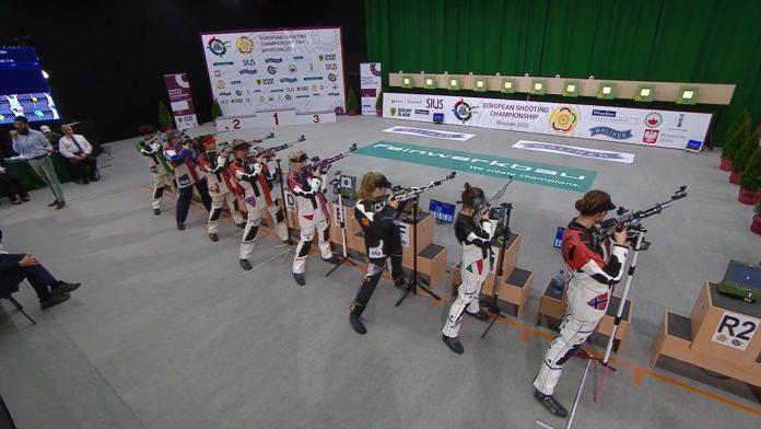 Laura Coman domina! Este pentru a doua oara la rand campioana europeana la tir!