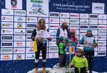 Mama cu trei copii castiga trei curse la schi alpin intr-o saptamana la SES in Poiana!