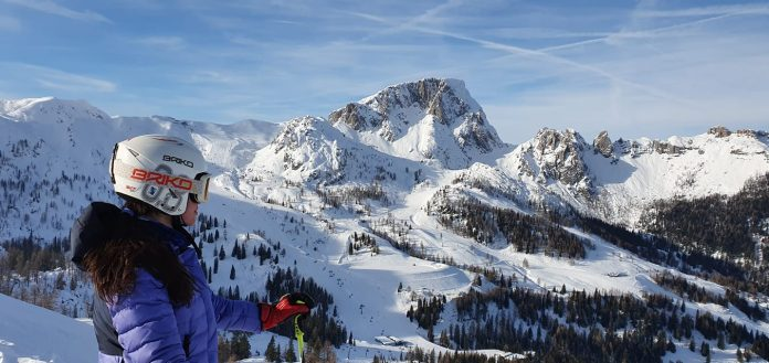 Ana Teodora Tarsia e campioana nationala la Slalom. Evolutie la schi alpin