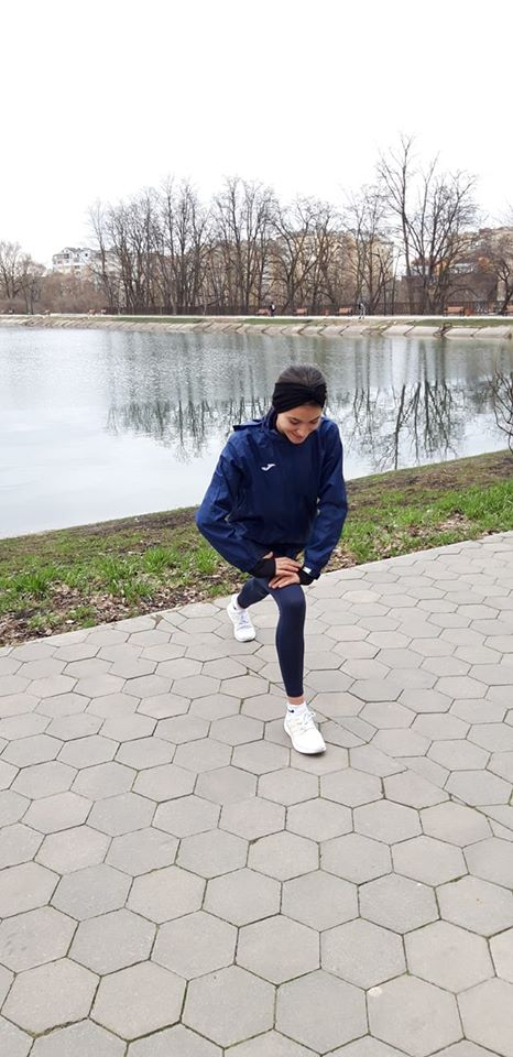 Diana Lataretu se antreneaza in autoizolare dupa medalia castigata in Ucraina
