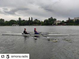 Simona Radiș si Ancuța Bodnar sunt din nou împreună în barcă
