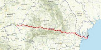 Alearga Romania un ultra-maraton de … 986 km! Finish pe plaja Sulina