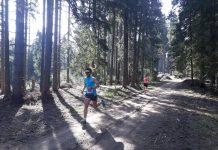 Andrei Ivanescu alearga pe munte. Ploaia nu-l opreste. In viteza pe Varful Postavaru