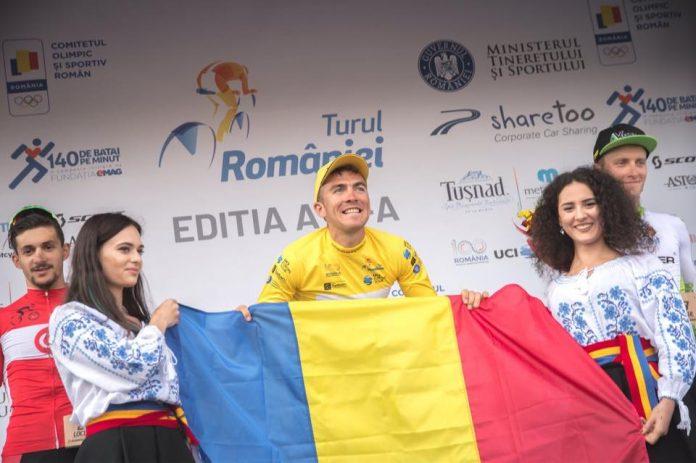 Serghei Tvetcov e cel mai bine plasat ciclist al Romaniei in prima etapa a Turului Sibiului.