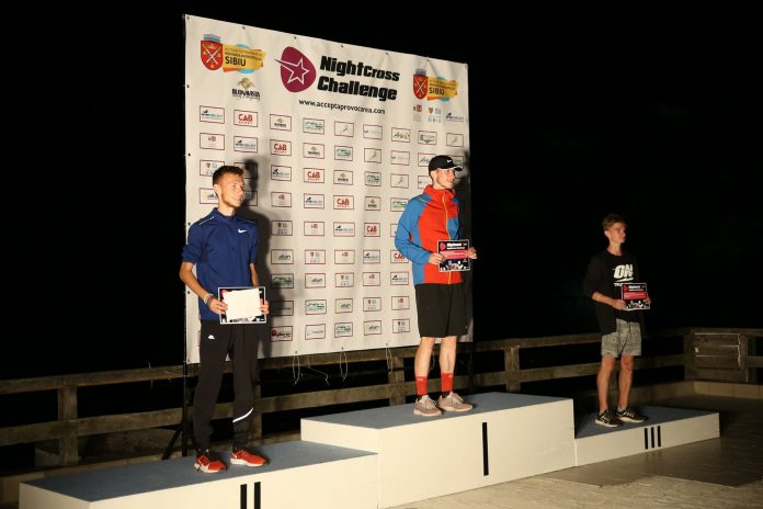 Peter Herman s-a clasat pe prima pozitie la Night Cross Challenge categoria 9 KM